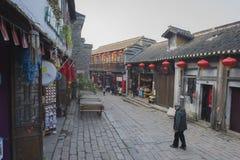 Fähre Zhenjiangs alte xinjin Antikengebäude Stockfotos