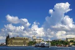 Fähren in Istanbul Lizenzfreies Stockfoto