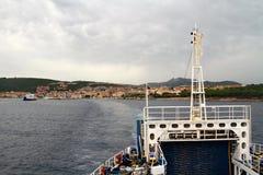 Fähren-Schiff Lizenzfreie Stockbilder