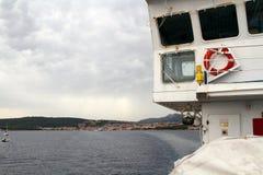 Fähren-Schiff Stockfotografie