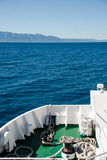 Fährenreise Stockbild