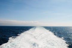 Fährenspur Lizenzfreies Stockbild