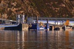 Fährhafen Lizenzfreies Stockfoto