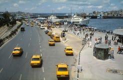 Fährhafen Eminonu Istanbul lizenzfreie stockfotos