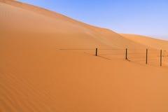 Fäkta att försvinna in i Sanddynen Royaltyfri Foto