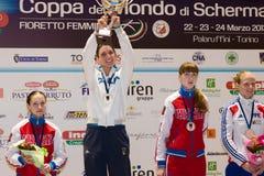 Att fäkta kuper Torino 2013 Royaltyfria Bilder