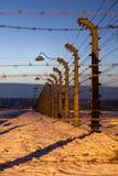 Fäkta runt om koncentrationsläger av Auschwitz Birkenau, Polen Royaltyfria Bilder