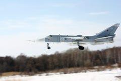 Fäktare Su-24 royaltyfria bilder