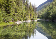 Fäll ned Dewey Lake Royaltyfria Foton
