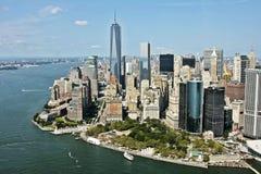 Fäll ned Manhattan Royaltyfri Fotografi