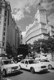 Fäll ned Manhattan Arkivfoton