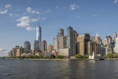 Fäll ned Manhattan royaltyfri foto