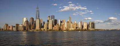 Fäll ned Manhattan arkivbild