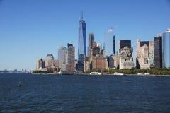 Fäll ned Manhattan Arkivfoto