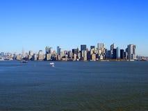 fäll ned manhattan New York Royaltyfri Fotografi
