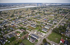 Fäll ned nionde avvärjer, New Orleans, Louisana Royaltyfri Foto