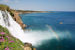 Fälle in Antalya Lizenzfreies Stockbild