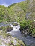 Fälle in Wales lizenzfreie stockfotos
