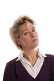 Fällige Frau Lizenzfreie Stockbilder