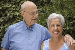 Fällige Frau und Ehemann Stockfotos