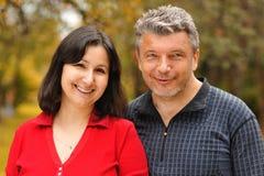 Fällige Paare Lizenzfreie Stockfotos