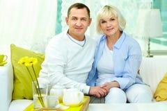 Fällige Paare Lizenzfreie Stockfotografie