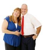 Fällige Paare zusammen Stockbild