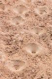 Fällor för sandgrop Arkivfoto