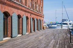 Fällt Punkt-Bezirk-Ufergegend in Baltimore, Maryland stockbilder