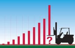 Fälschen Sie Finanzberichte ponzi Entwurf Stockfoto