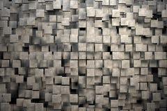 Fält av bruntfyrkantplattor med stentextur Royaltyfri Fotografi