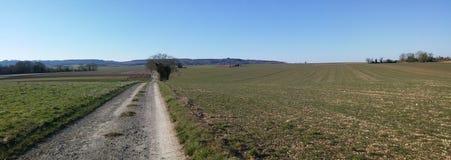 Fält av den Val D `en Oise Arkivfoton