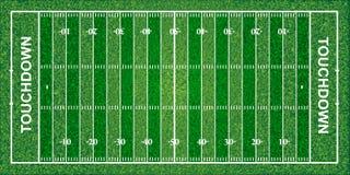 Fält för amerikansk fotboll, textur, vektorillustration stock illustrationer