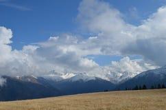 Fält i berg, Turkiet Royaltyfria Bilder