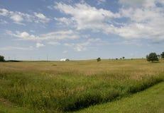 fält iowa Fotografering för Bildbyråer