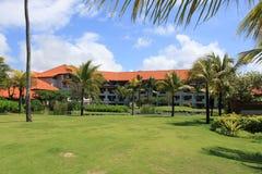Fält på hotellet på Bali Royaltyfri Fotografi