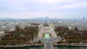 Fält Paris för flyg- sikt av Mars Arkivbilder