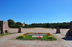 Fältet av fördärvar i St Petersburg Royaltyfri Bild