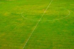 fältfotbollfotboll Fotografering för Bildbyråer