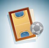 fälthandboll Arkivbilder