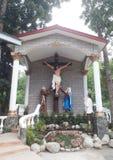 Fältpräst Pio Shrine royaltyfria bilder