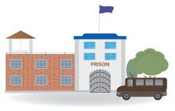 Fängelse stock illustrationer