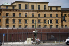 Fängelse Berlin Fotografering för Bildbyråer