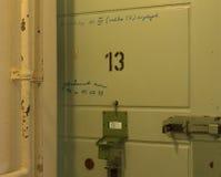 Fängelse för insida för cellnummer tretton Arkivfoton