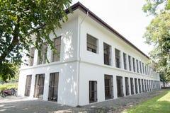 FÄNGELSE FÖR THAILAND BANGKOK KORRIGERINGSMUSEUM royaltyfria foton