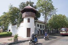 FÄNGELSE FÖR THAILAND BANGKOK KORRIGERINGSMUSEUM royaltyfri bild