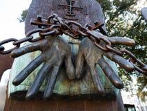 Fängelse och förföljelse royaltyfri bild