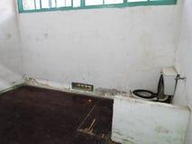 Fängelsecellen i Jing-Mei Human Rights Memorial och kulturellt parkerar arkivbild
