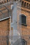 fängelserakknivtråd Fotografering för Bildbyråer