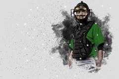 Fänger-Baseball-Spieler lizenzfreie stockfotografie